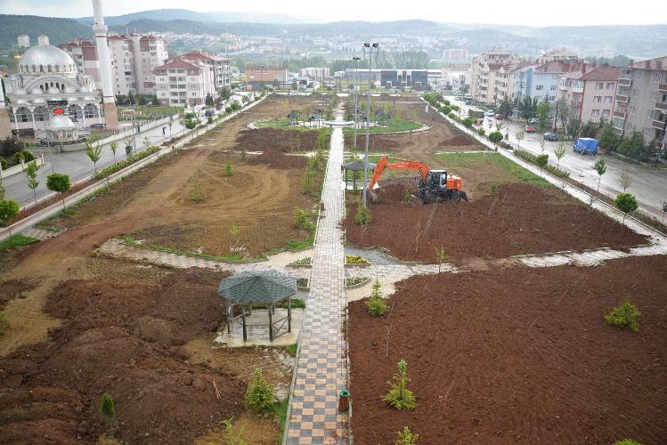 15 TEMMUZ ŞEHİTLERİ PARKI 2. ETAP ÇALIŞMALARI BAŞLADI
