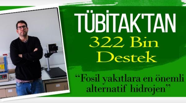 TÜBİTAK'DAN 322 BİN DESTEK