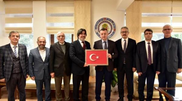 VALİ BÜYÜKAKIN'A ZİYARETLER DEVAM EDİYOR