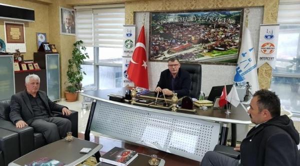 YENİPAZAR AK PARTİ TEŞKİLATI'NDAN BAŞKAN DUYMUŞ'A ZİYARET