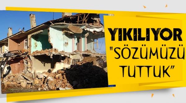 YIKILDI !