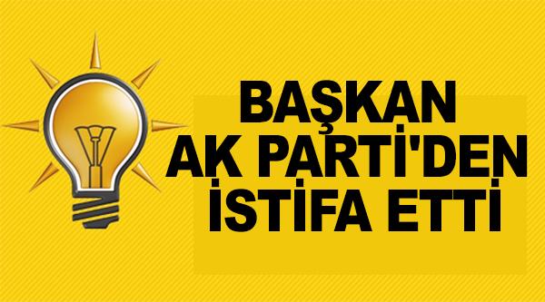 BAŞKAN AK PARTİ'DEN İSTİDA ETTİ