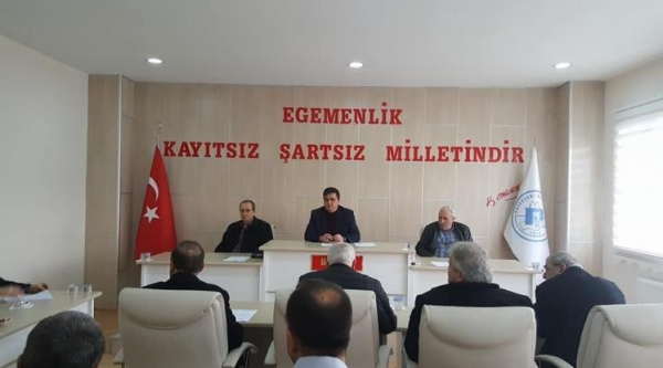 PAZARYERİ BELEDİYE MECLİS TOPLANTISI