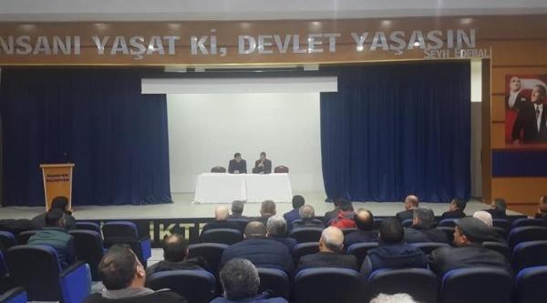 PAZARYERİ'NDE HALK MECLİSİ TOPLANTISI YAPILDI