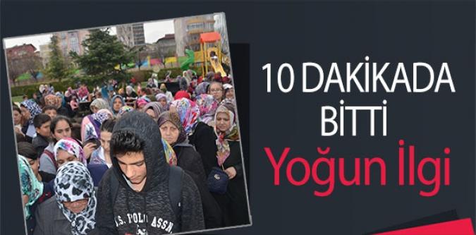 10 DAKİKADA BİTTİ