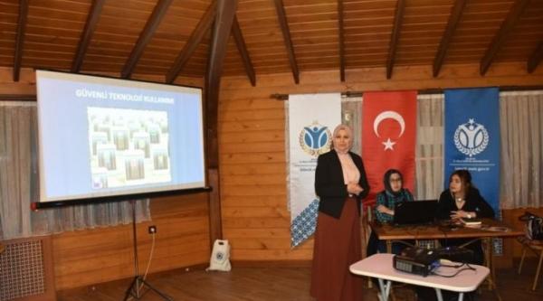 """""""KAHVELİ BİLİNÇLENDİRME EĞİTİMLERİ"""" DEVAM EDİYOR"""