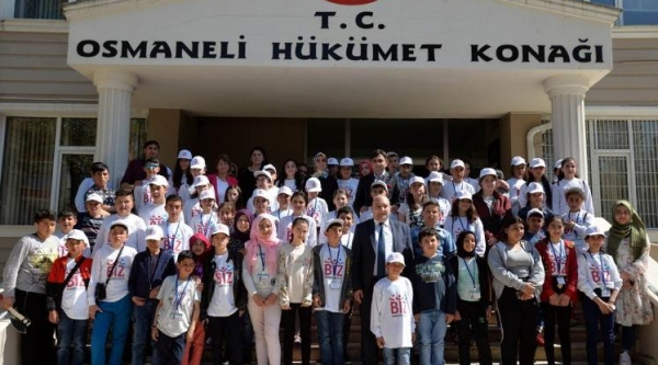 OSMANELİ VE PAZARYERİ'Nİ ZİYARET