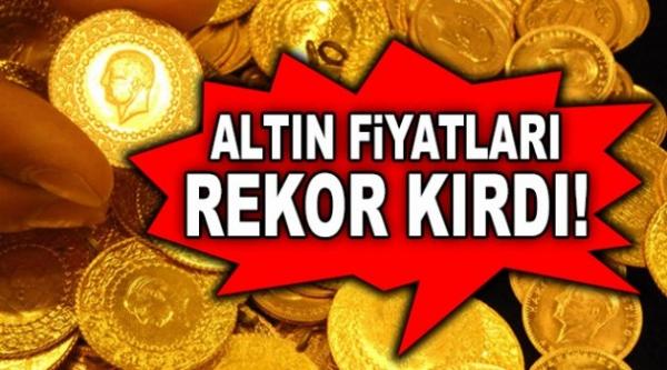 ALTIN FİYATLARINDA BÜYÜK REKOR