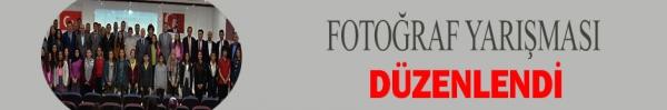 FOTOĞRAF YARIŞMASI DÜZENLENDİ