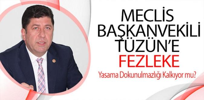 MECLİS  BAŞKANVEKİLİ TÜZÜN'E  FEZLEKE