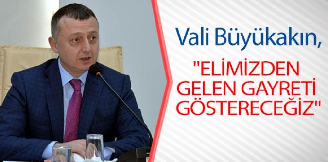"""""""SEÇİM GÜVENLİĞİ"""" TOPLANTISI YAPILDI"""