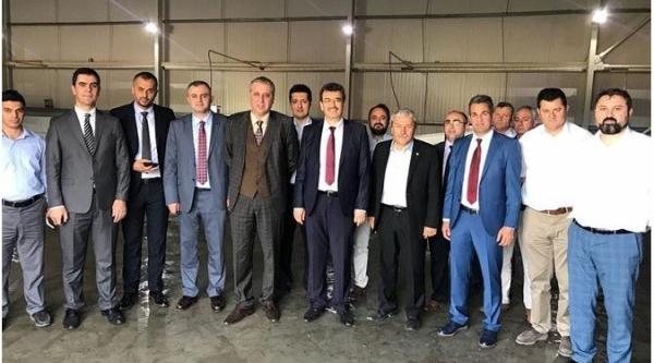 """""""SÖZLEŞMELİ ÜRETİM VE PAZARLAMA PROJESİ"""" TOPLANTISI YAPILDI"""