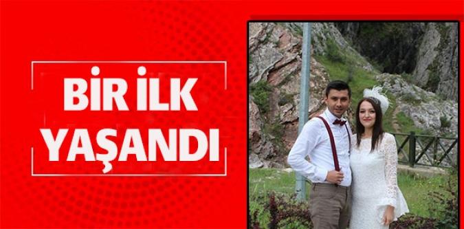 TABİAT PARKI'NDA NİKAH KIYDILAR