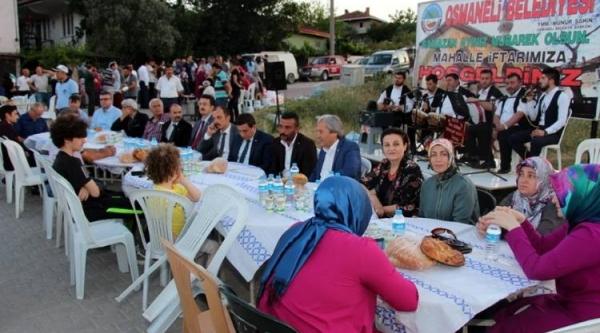 OSMANELİ'DE MAHALLE İFTARLARI SONA ERDİ