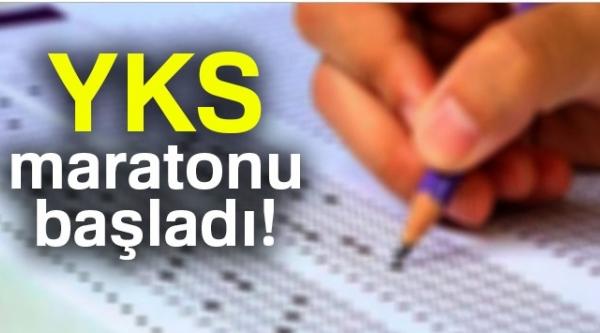 YKS MARATONU BAŞLADI