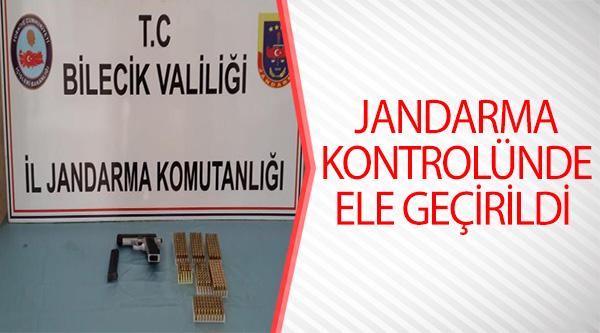 JANDARMA KONTROLÜNDE ELE GEÇİRİLDİ