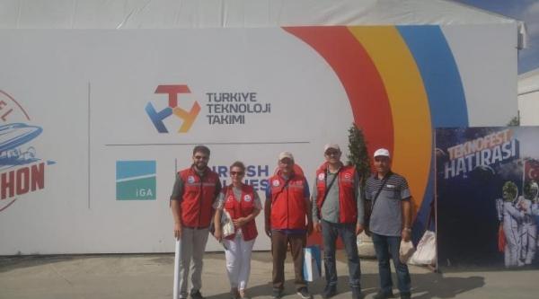 HAVACILIK VE UZAY FESTİVALİNE KATILDILAR