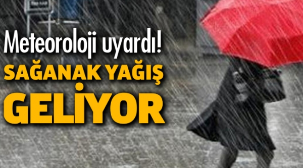 METEOROLOJİ BİLECİK'İ UYARDI! SAĞANAK YAĞIŞ GELİYOR