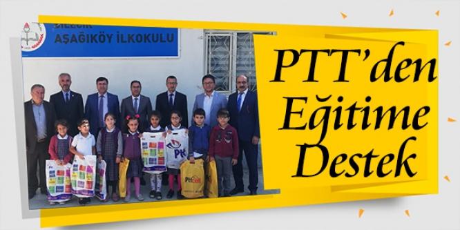 PTT'DEN EĞİTİME DESTEK