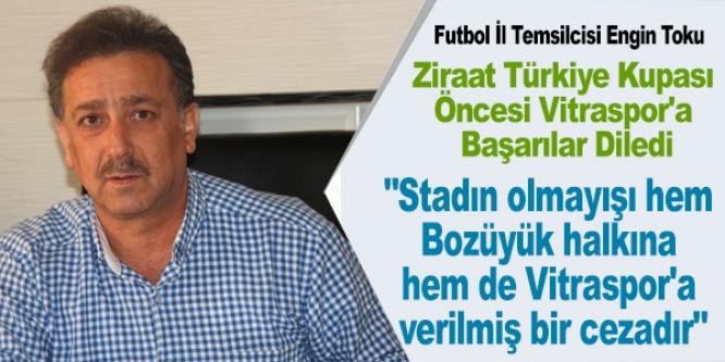 """TAKIMIMIZ DENİZLİSPOR'U YENECEK GÜCE VE TECRÜBEYE SAHİP"""""""