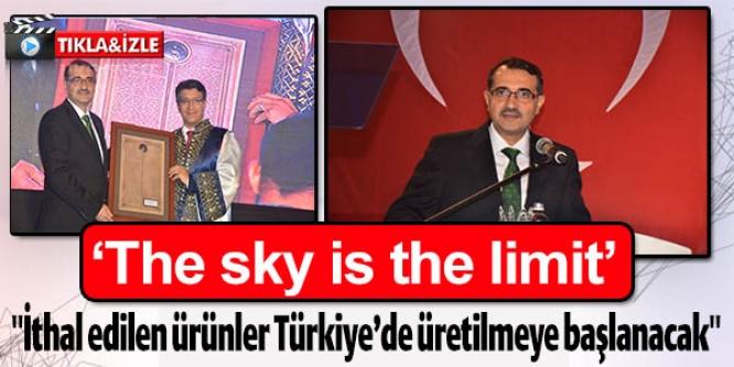 BAKAN DÖNMEZ'DEN ÜRETİM MÜJDESİ;