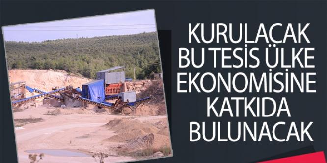 BİLECİK'E KURULACAK  BU TESİS ÜLKE  EKONOMİSİNE  KATKIDA BULUNACAK