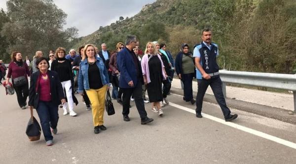 KADIN MUHTARLARDAN OSMANELİ'YE ZİYARET