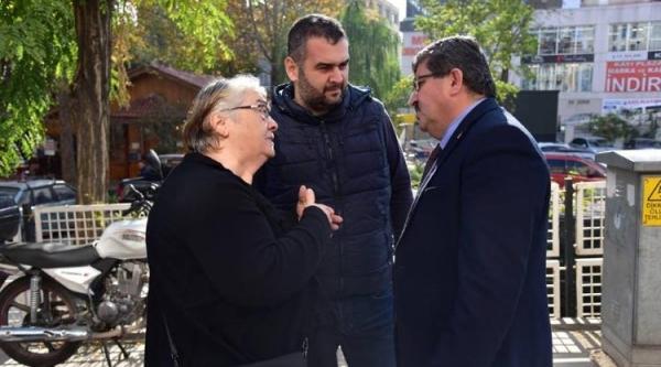 BAŞKAN CAN, ESNAF VE VATANDAŞLARLA BİR ARAYA GELDİ