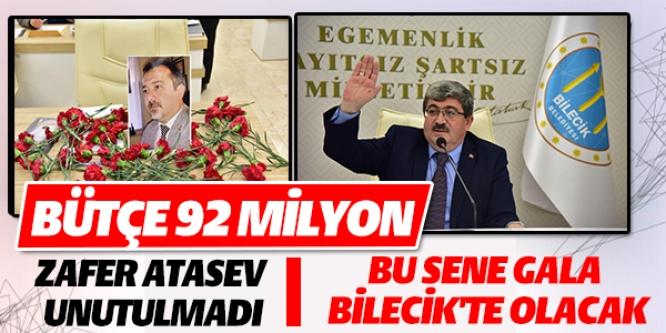 BÜTÇE 92 MİLYON