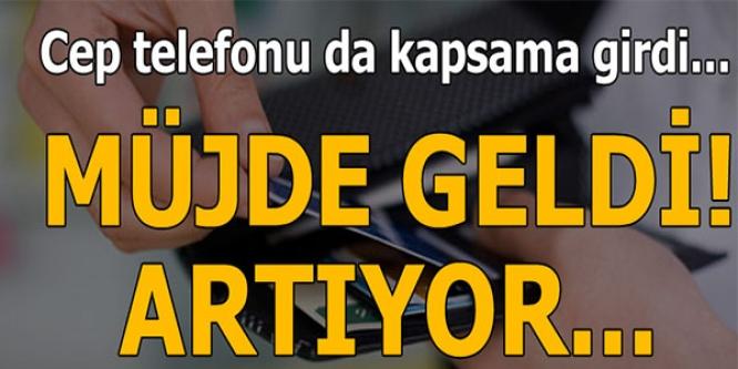 MÜJDE GELDİ ARTIYOR !