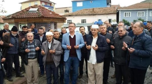 VEZİRHAN'DA HACI ADAYLARI UĞURLANDI