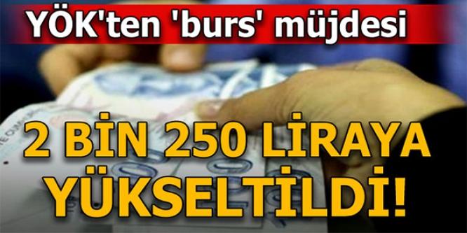 YÖK'TEN DOKTORA ÖĞRENCİLERİNE 'BURS ARTIŞI' MÜJDESİ