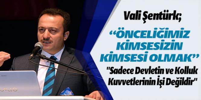 VALİ ŞENTÜRK MUHTARLARLA BULUŞTU
