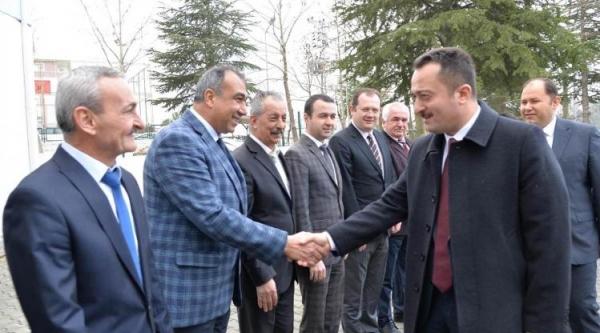 VALİ ŞENTÜRK'TEN İL ÖZEL İDARESİ'NE ZİYARET