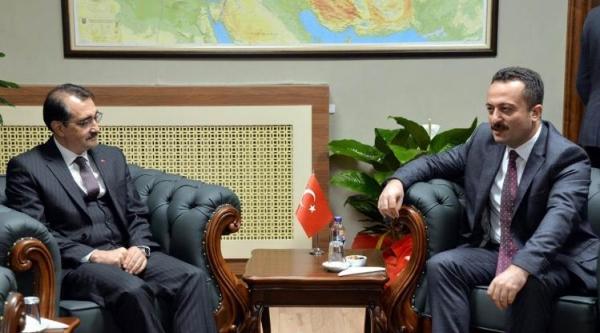 BAKAN DÖNMEZ'DEN VALİ ŞENTÜRK'E ZİYARET