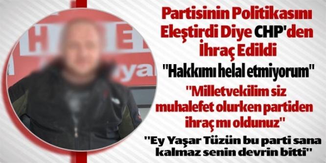 """""""EY YAŞAR TÜZÜN BU PARTİ SANA KALMAZ SENİN DEVRİN BİTTİ"""""""