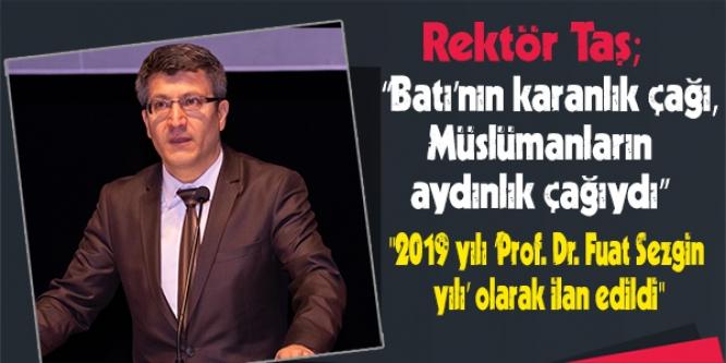 PROF. DR. FUAT SEZGİN 'DİN, BİLİM VE MEDENİYET' PANELİ GERÇEKLEŞTİ