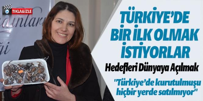 TÜRKİYE'DE BİR İLK OLSUN İSTİYORLAR