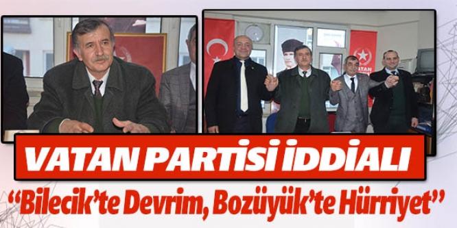 VATAN PARTİSİ İDDİALI