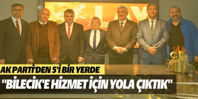 AK PARTİ İL GENEL MECLİS ÜYESİ ADAYLARINDAN ZİYARET