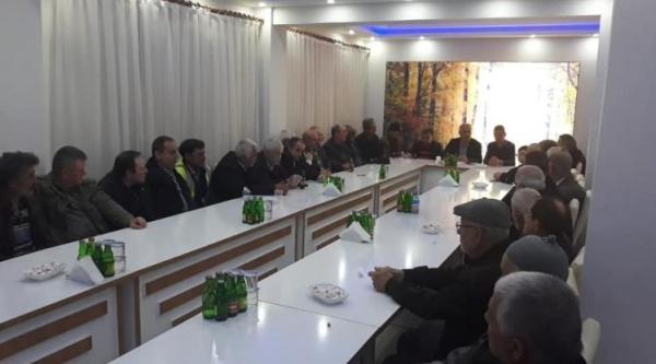 BAYIRKÖY'DE BELDE BİLGİLENDİRME TOPLANTISI YAPILDI