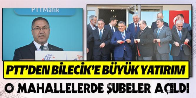 PTT O MAHALLELERDE ŞUBELERİNİ AÇTI