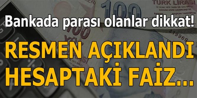 BANKADA PARASI OLANLAR DİKKAT !