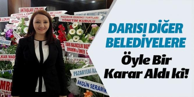 DARISI DİĞER BELEDİYELERE