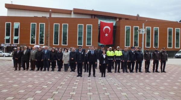 PAZARYERİ'NDE POLİS TEŞKİLATININ 174. KURULUŞ YIL DÖNÜMÜ KUTLANDI