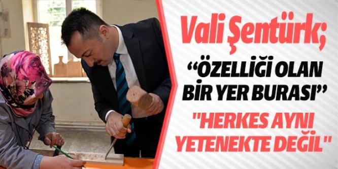 VALİ ŞENTÜRK'TEN ÇÖMLEK ATÖLYELERİNDE İNCELEME