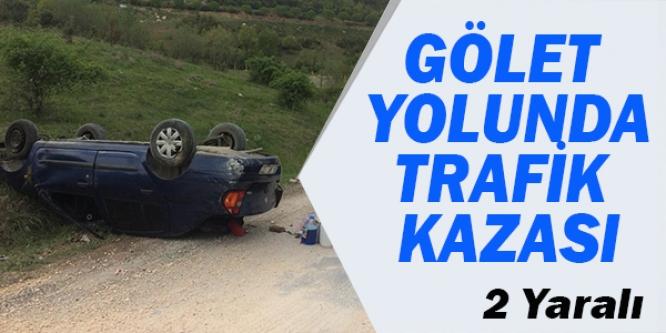 BİLECİK'TE TRAFİK KAZASI, 2 YARALI