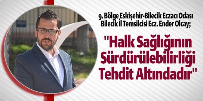 """""""HALK SAĞLIĞININ SÜRDÜRÜLEBİLİRLİĞİ TEHDİT ALTINDADIR"""""""