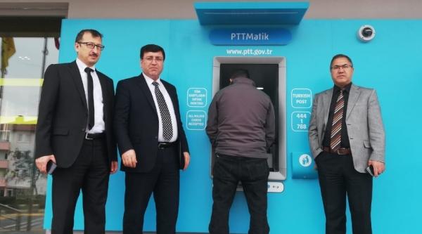 PTT ATM'LERİ HİZMETE BAŞLADI