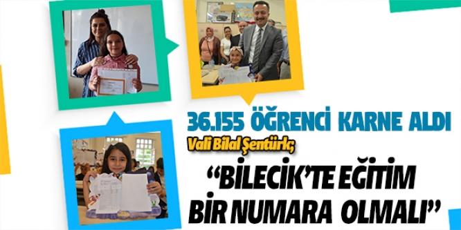 36.155 ÖĞRENCİ KARNE ALDI